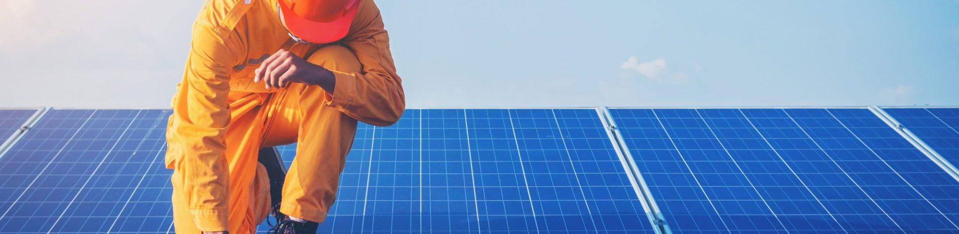 La maintenance d'une installation photovoltaïque