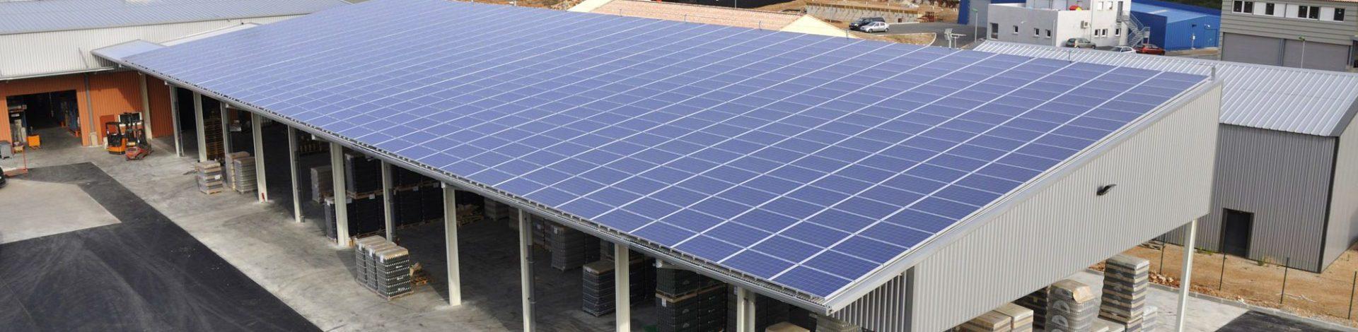 Centrales photovoltaïques sur les toits