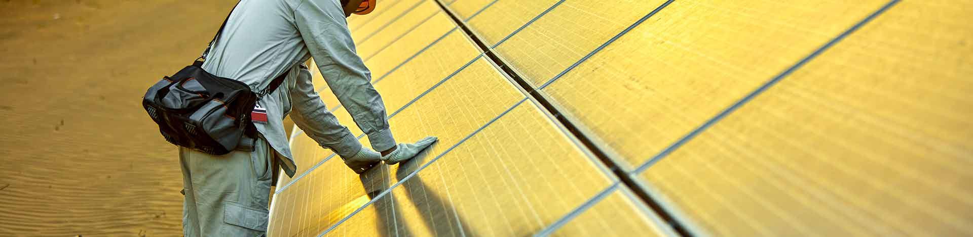 Les panneaux solaires et la pollution